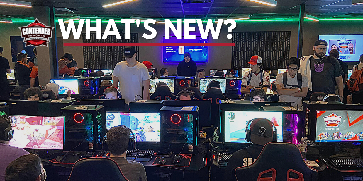 What's New at Contender Esports