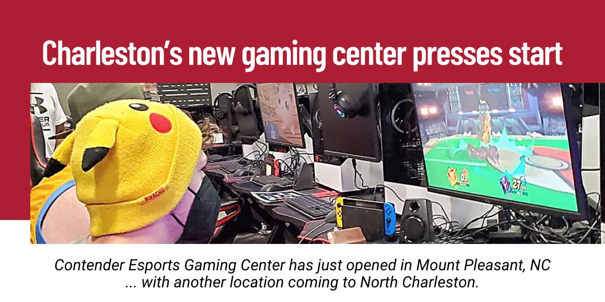 Charleston's new gaming center presses start