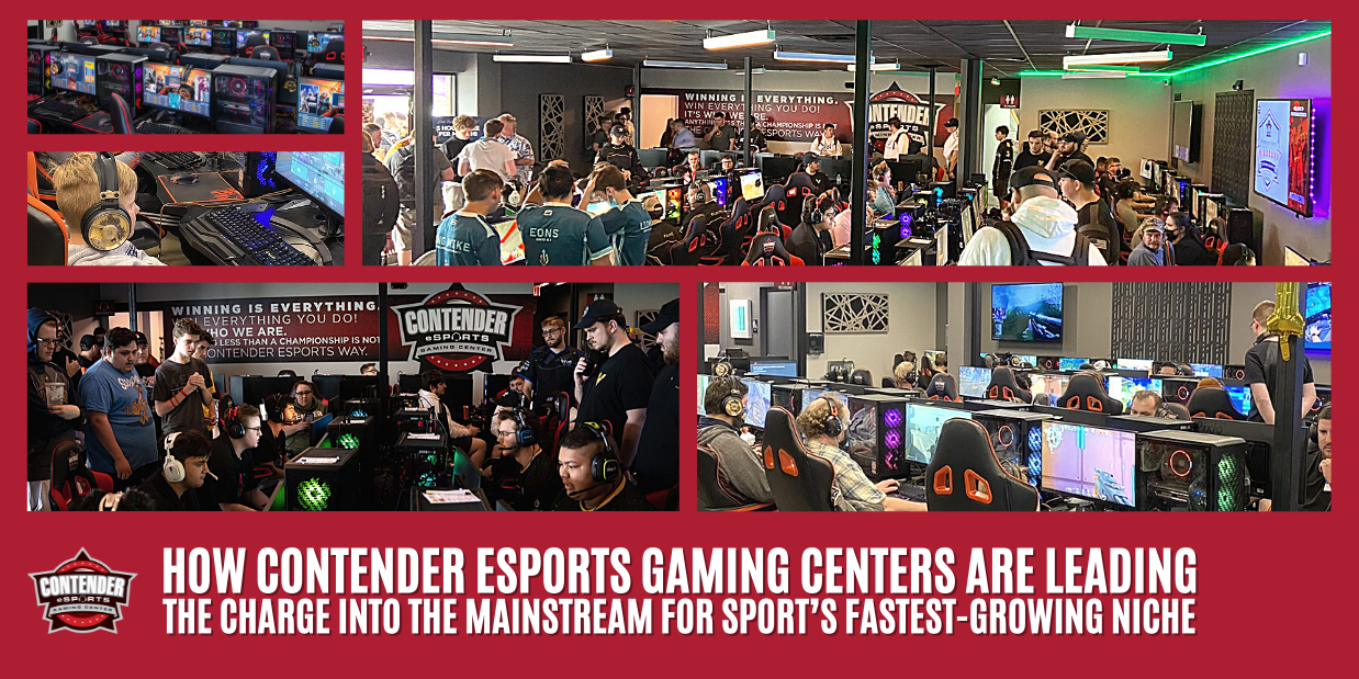 How Contender eSports Gaming Centers are leading the charge into the mainstream for sport's fastest-growing niche
