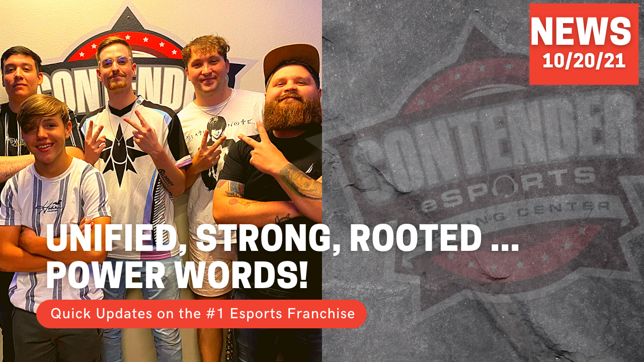 Unified, Strong, Rooted … Strong Words